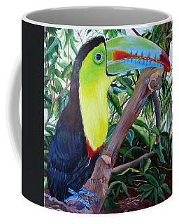 Toucan Portrait Coffee Mug
