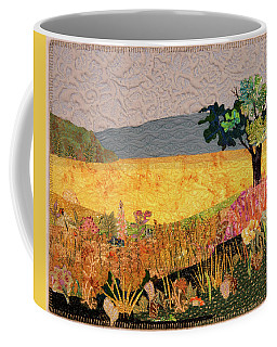 Touch Of Goldenrod Coffee Mug