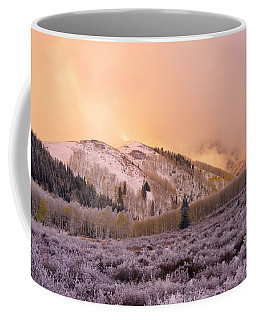 Touch Of Winter Coffee Mug