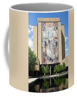 Touchdown Jesus Mural Coffee Mug