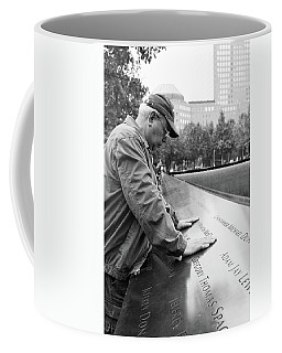 Touched Black And White Coffee Mug