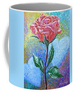 Touched By A Rose Coffee Mug