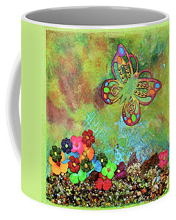 Touched By Enchantment Coffee Mug by Donna Blackhall