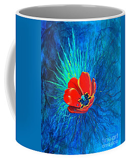 Coffee Mug featuring the painting Touched By His Light by Nancy Cupp