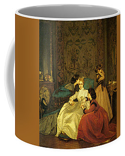 Toulmouche Auguste The Reluctant Bride Coffee Mug