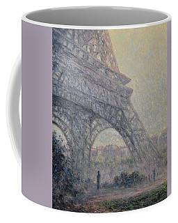 Paris , Tour De Eiffel  Coffee Mug by Pierre Van Dijk