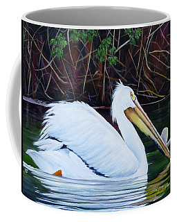 Touring Pelican Coffee Mug