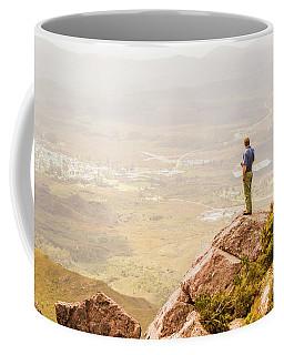 Tourist On The Tip Of Western Tasmania Coffee Mug