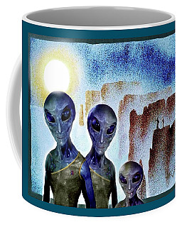 Tourists  Coffee Mug by Hartmut Jager