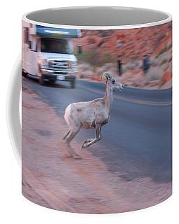 Tourists Intrusion In Nature Coffee Mug
