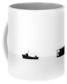 Coffee Mug featuring the photograph Tow #87893t by Andrey Godyaykin