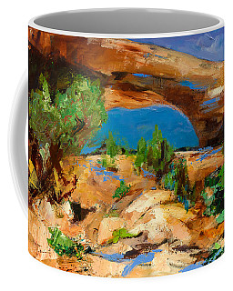 Toward The Arch  Coffee Mug