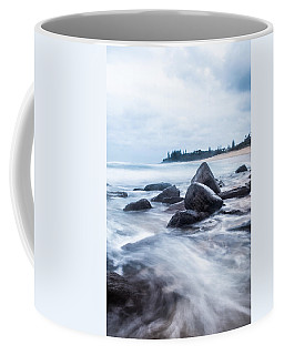 Coffee Mug featuring the photograph Towards Calmer Waters by Parker Cunningham