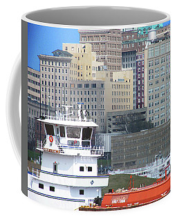 Towboat Robt G Stone At Memphis Tn Coffee Mug