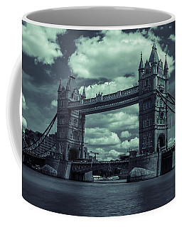 Tower Bridge Bw Coffee Mug