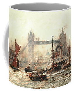 Tower Bridge From The Lower Pool Coffee Mug
