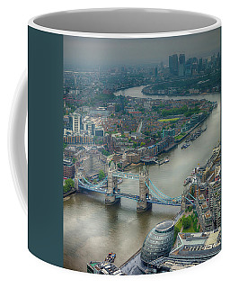Coffee Mug featuring the photograph Tower Bridge In London by Chris Cousins