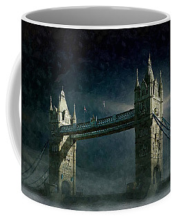 Tower Bridge In Moonlight Coffee Mug
