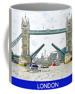 Tower Bridge London England Coffee Mug