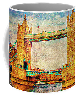 Tower Bridge London Coffee Mug by Judi Saunders