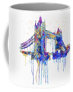 Tower Bridge Watercolor Coffee Mug
