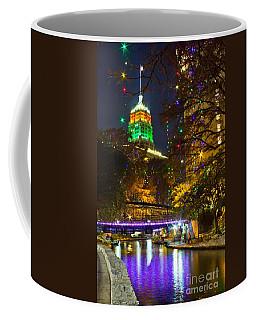Tower Life Riverwalk Christmas Coffee Mug