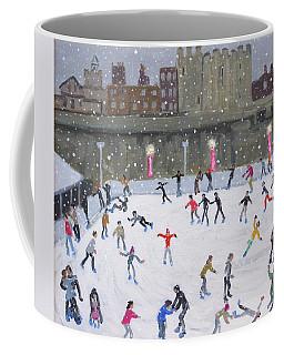 Tower Of London Ice Rink Coffee Mug