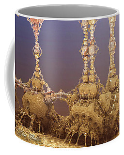 Coffee Mug featuring the digital art Tower Of Strength by Melissa Messick