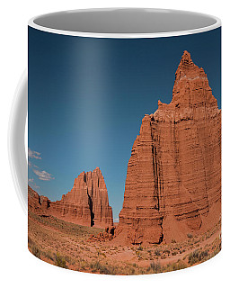 Tower Of The Sun And Moon Coffee Mug by Cindy Murphy - NightVisions