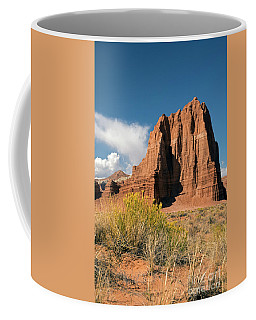 Tower Of The Sun Coffee Mug by Cindy Murphy - NightVisions