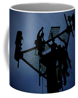 Coffee Mug featuring the photograph Tower Top by Robert Geary