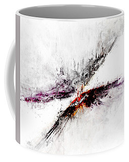 Coffee Mug featuring the digital art Towers by Claire Bull