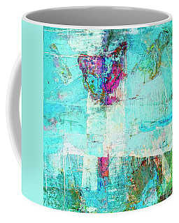 Coffee Mug featuring the painting Towers by Dominic Piperata