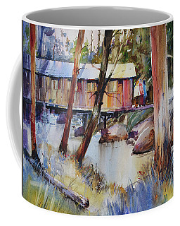 Covered Bridge Over Town Brook Coffee Mug