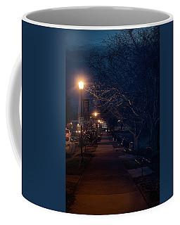 Town Street A Night Coffee Mug