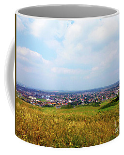 Town View From The Hill Coffee Mug