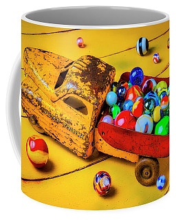 Toy Dump Truck With Marbles Coffee Mug