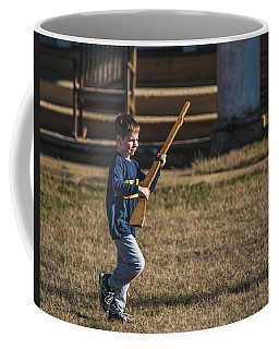 Toy Soldier Engages At Fort Washington Coffee Mug