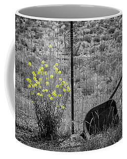 Toy Wheelbarrow And Wild Flowers Coffee Mug