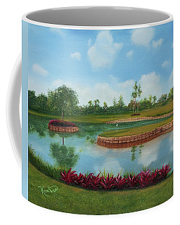 Tpc Sawgrass 17th Hole Coffee Mug
