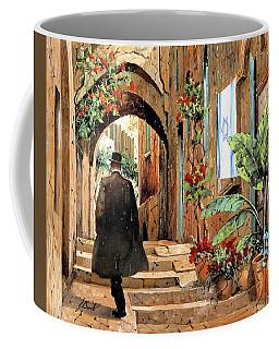 tra i vicoli a Jaffa Coffee Mug