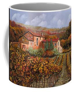 tra le vigne a Montalcino Coffee Mug