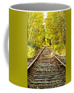 Track To Nowhere Coffee Mug by Greg Fortier