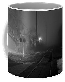 Track Watching Coffee Mug