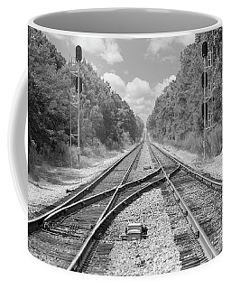 Coffee Mug featuring the photograph Tracks 2 by Mike McGlothlen