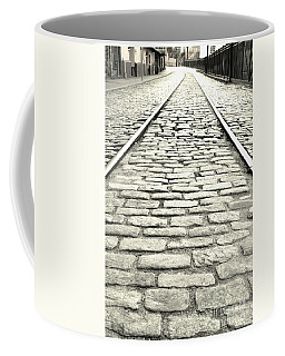 Tracks In The Road Coffee Mug