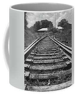 Coffee Mug featuring the photograph Tracks by Mike McGlothlen