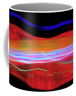 Coffee Mug featuring the photograph Tracks by Scott Cordell