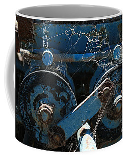 Coffee Mug featuring the photograph Tractor Engine IIi by Stephen Mitchell