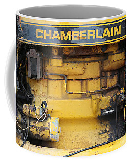 Coffee Mug featuring the photograph Tractor Engine Iv by Stephen Mitchell